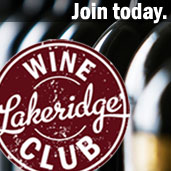 Join our monthly wine club!